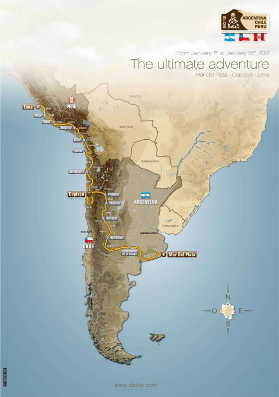 ARGENTINA - CHILE - PERÚ 2012