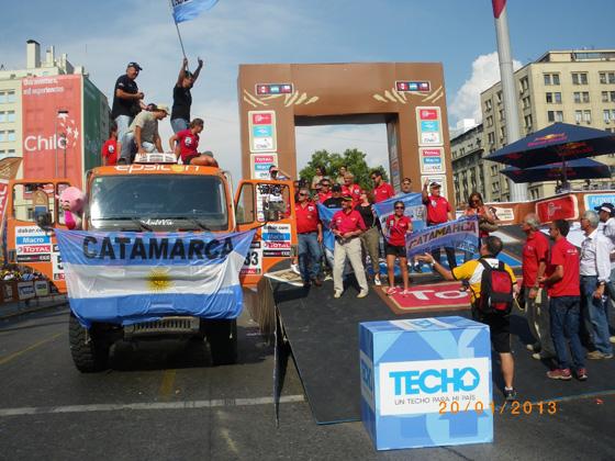 Resultados satisfactorios en el Dakar